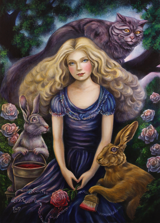 Painting The Roses Red Artwork by Eeva Nikunen