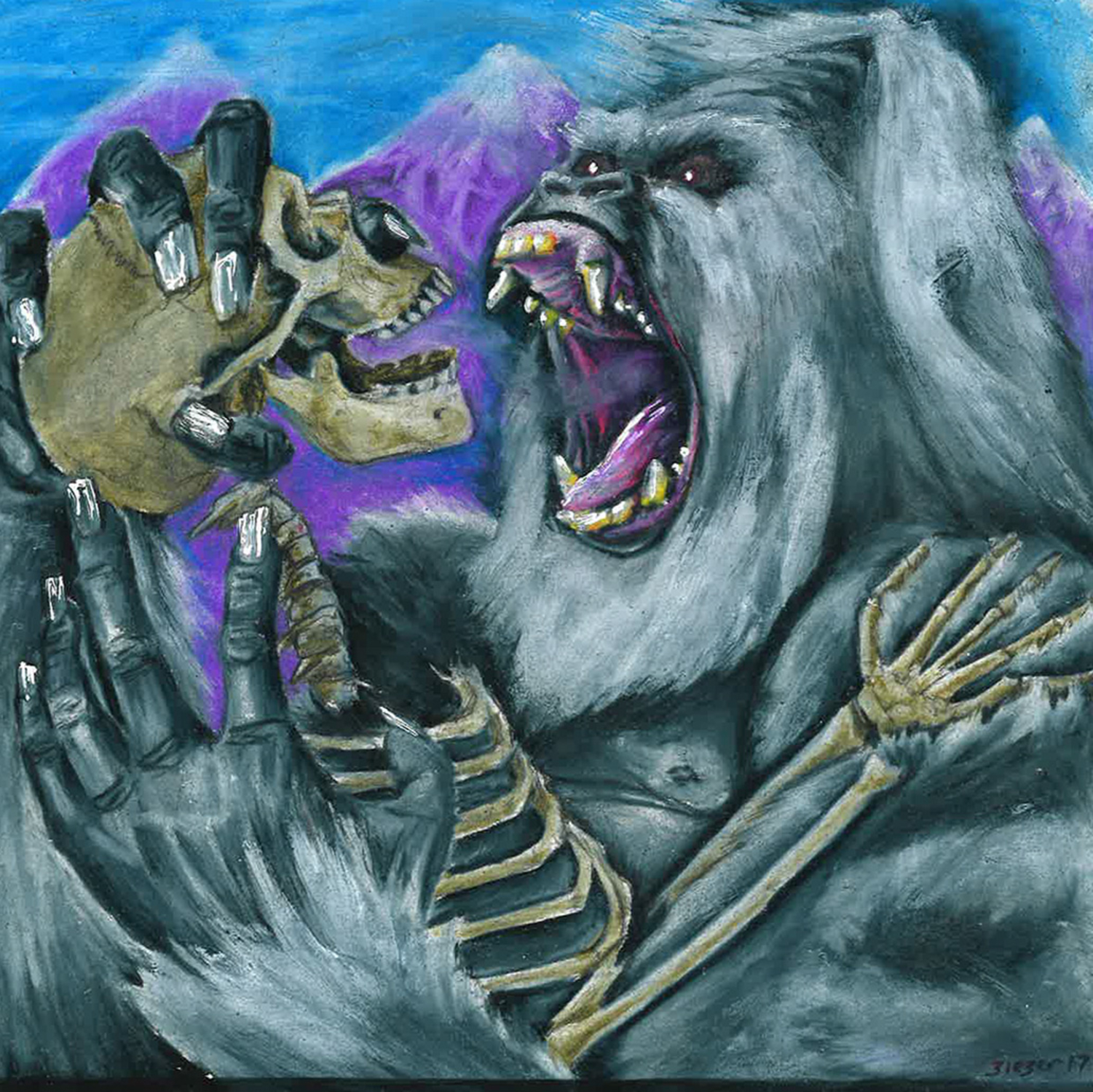 Yeti Extinction Artwork by Bob Bieber