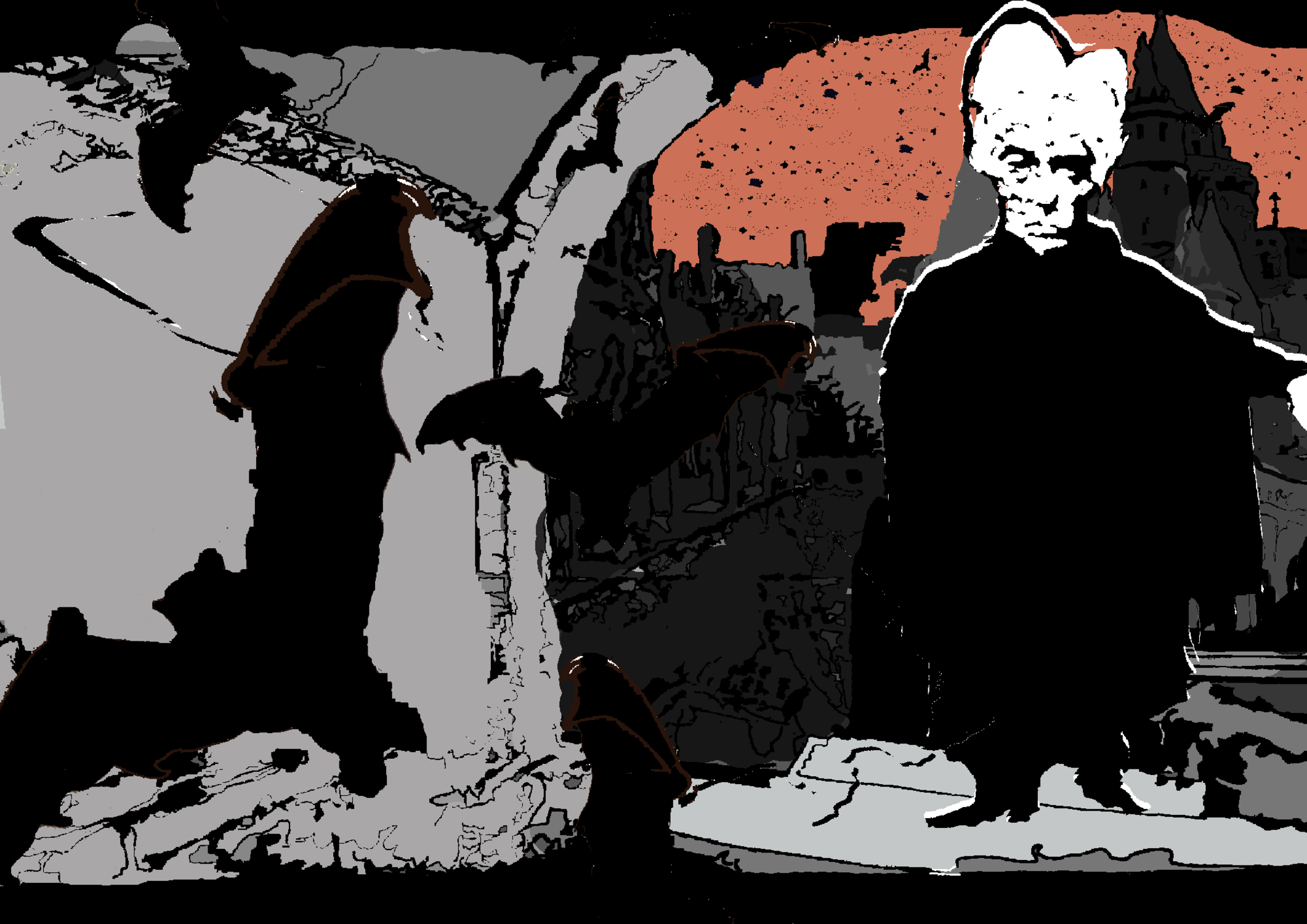 Dracula Artwork by Natalie Knowles