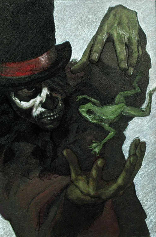 Voodoo Man Artwork by Josh Pemberton