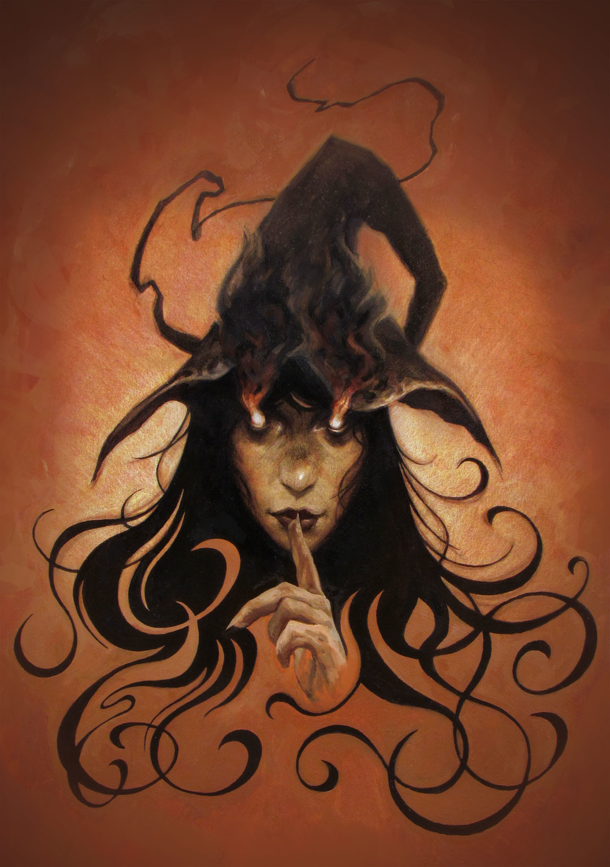 Witch Artwork by Josh Pemberton