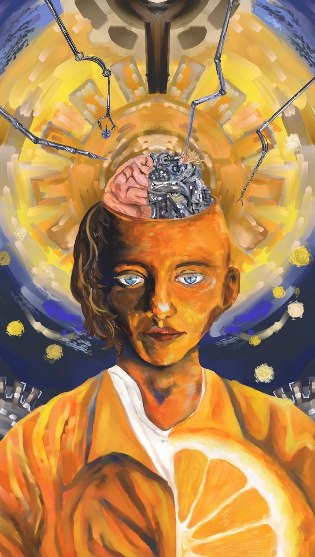 An Clockwork Orange Artwork by Echo Yan