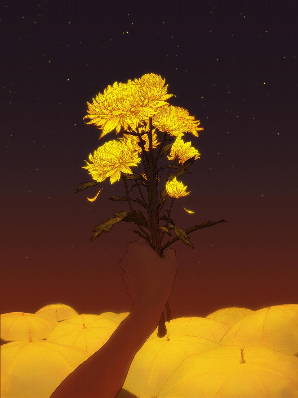 Light in the Darkness Artwork by Charis Loke