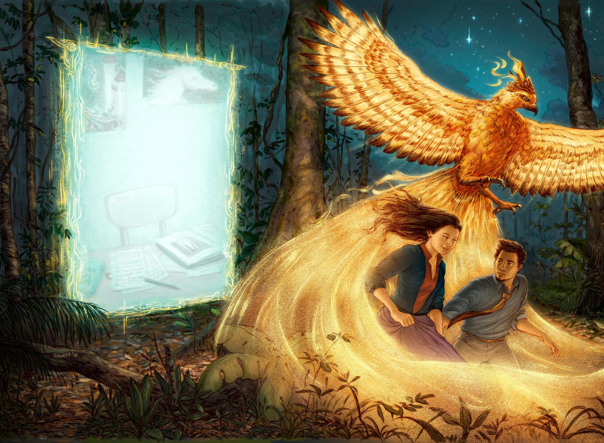 Dongeng (Fairytale) Artwork by Charis Loke