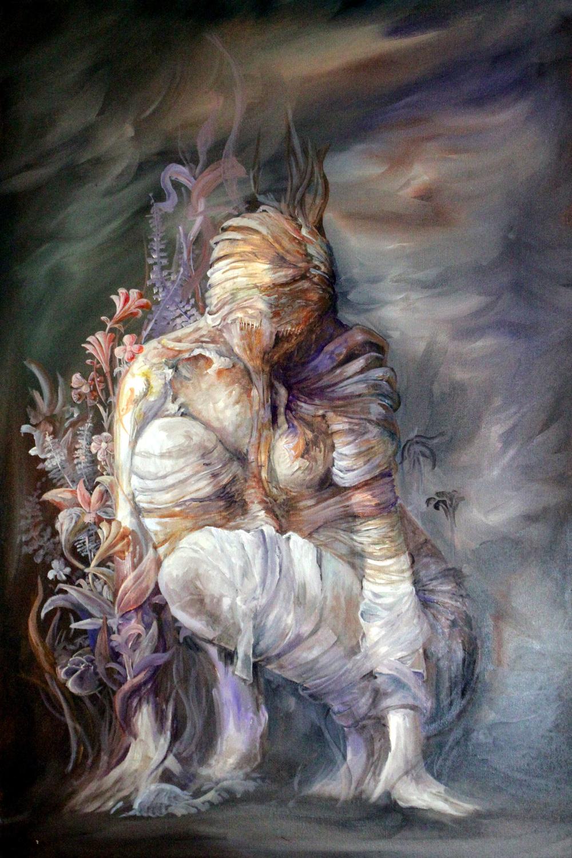 Regurgitation of Detritus Artwork by James Pinkett