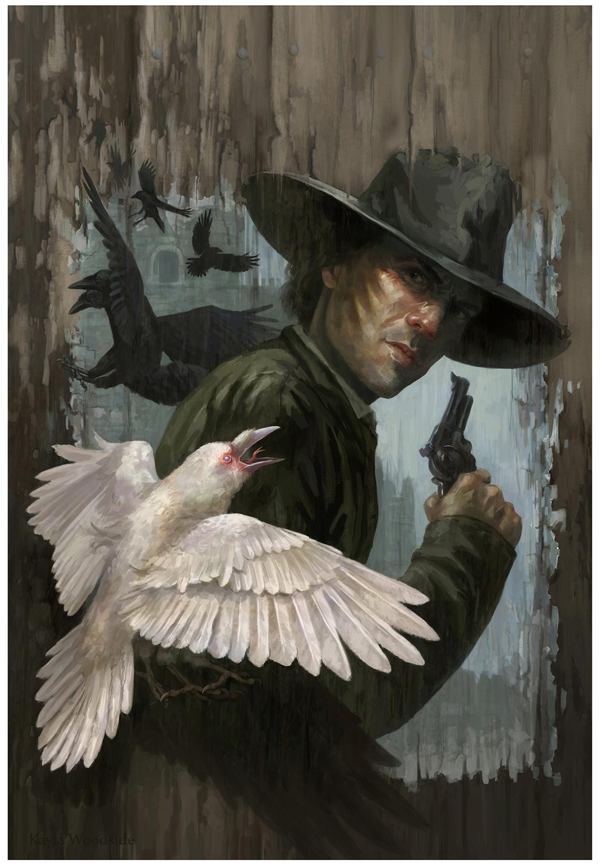 Gunslinger Artwork by Kayla Woodside