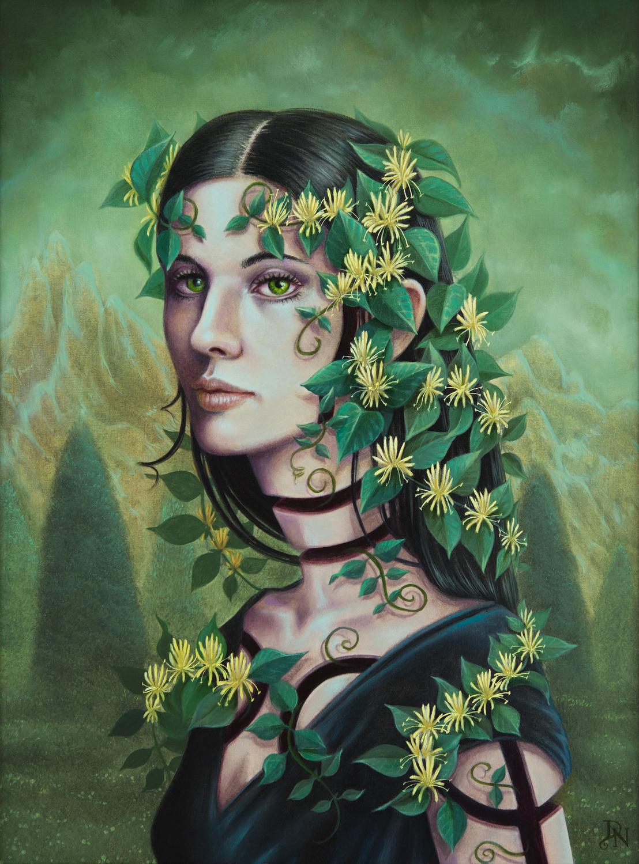 Honeysuckle Artwork by David Natale