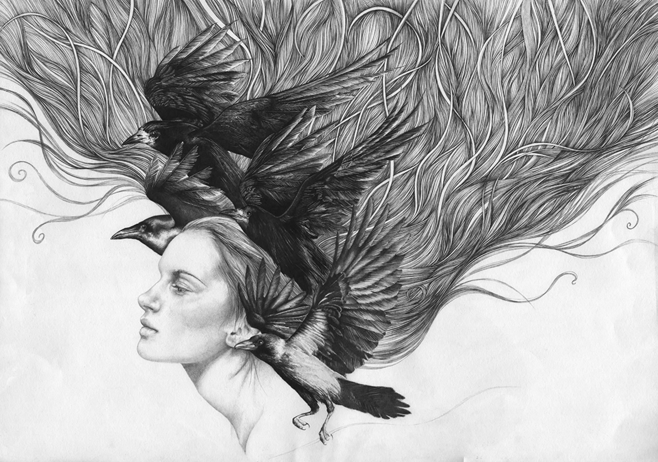 The Dream Thief Artwork by Bonnie Helen Hawkins