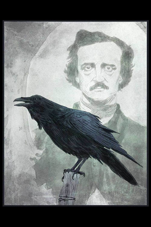 Poe Artwork by Brent Woodside