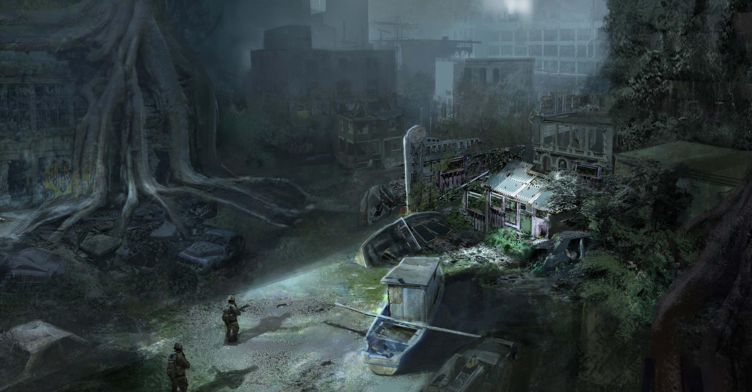 Ruins Artwork by Qianjiao Ma