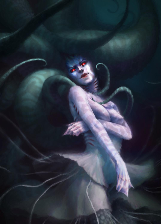 mermaid Artwork by emanuele desiati