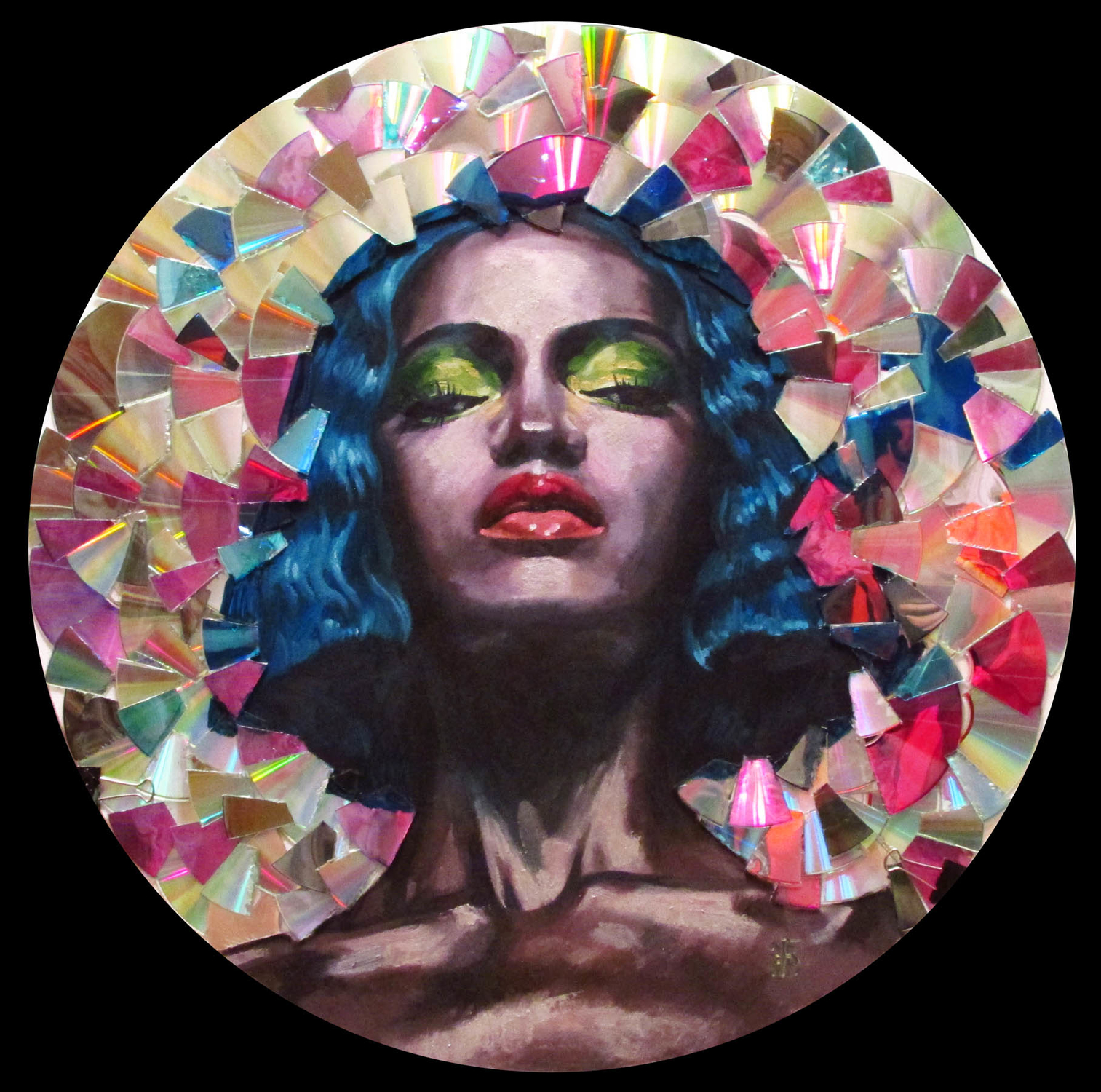 Mirror   Artwork by Kateryna Bortsova
