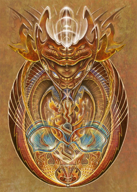 Kundalini Rising  Artwork by Joshua Levin