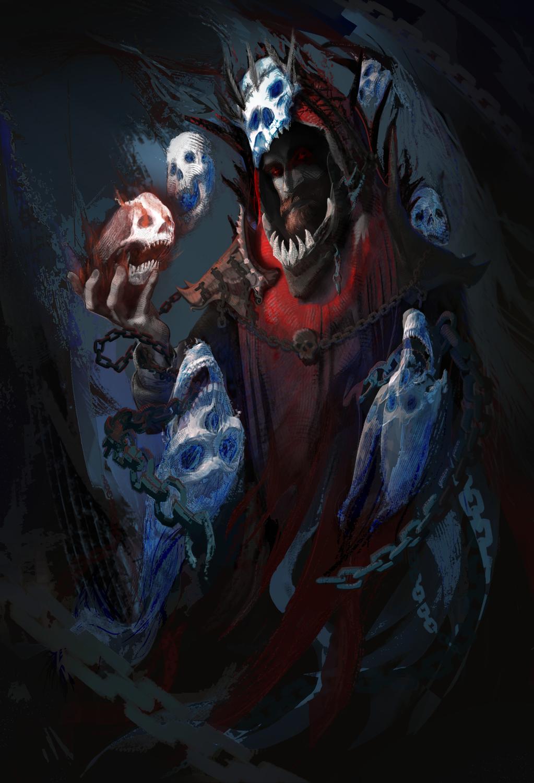 Blood Mage Artwork by Ben Hill