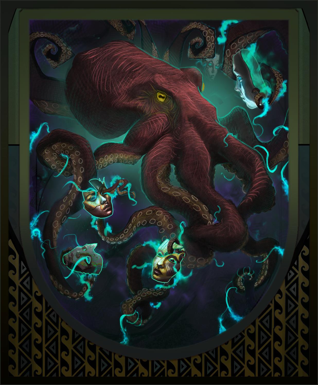 Neoctopus Artwork by Ben Hill