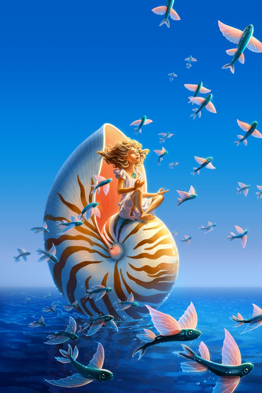 Aegean Princess Artwork by Laura Diehl