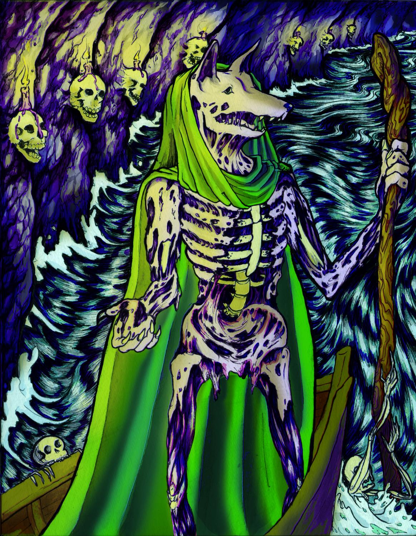 Xolotl Artwork by Christine Skelly