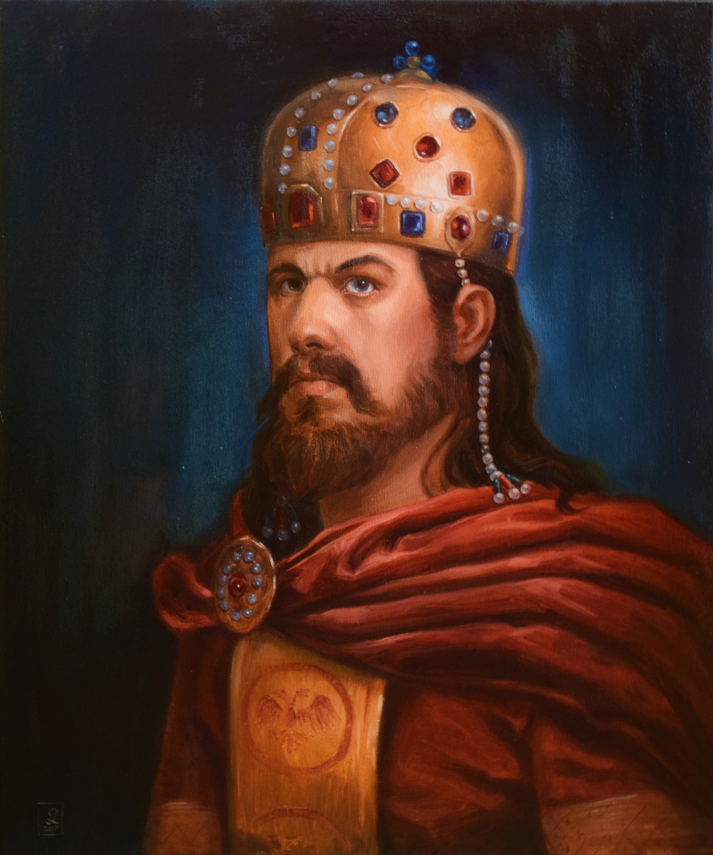 Emperor Stefan Dušan Artwork by Darko Stojanovic