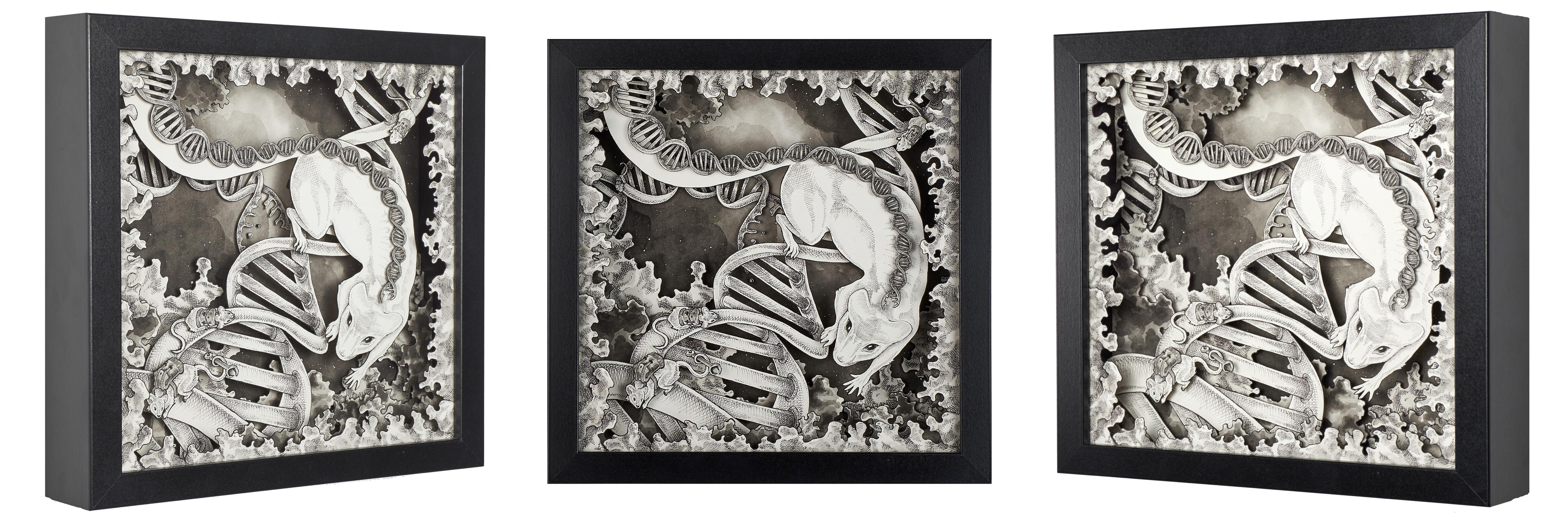 Foundation of us Artwork by Daria Aksenova