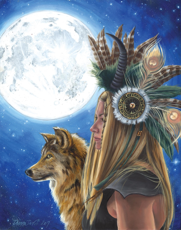 Moon Song Artwork by Deanna Davoli