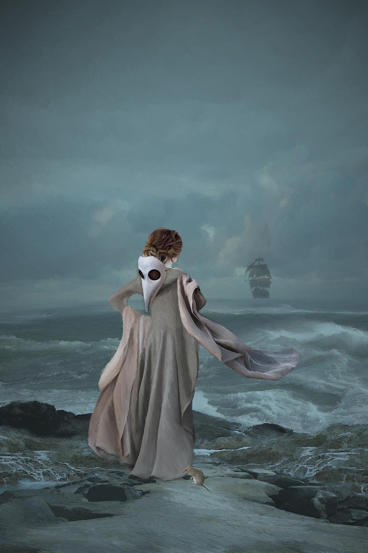 Harbinger of Pestilence Artwork by Elizabeth Leggett