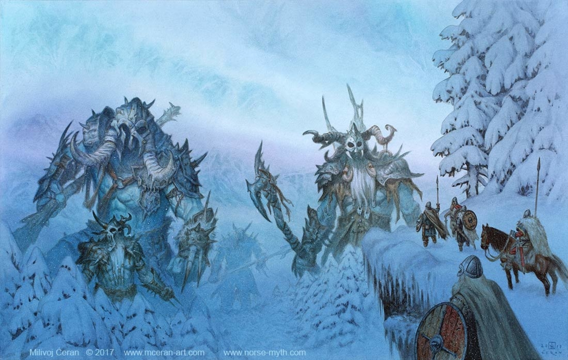 Jotunheim Artwork by Milivoj Ceran