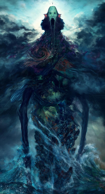 Poseidon's Wrath Artwork by Tsad De Lira