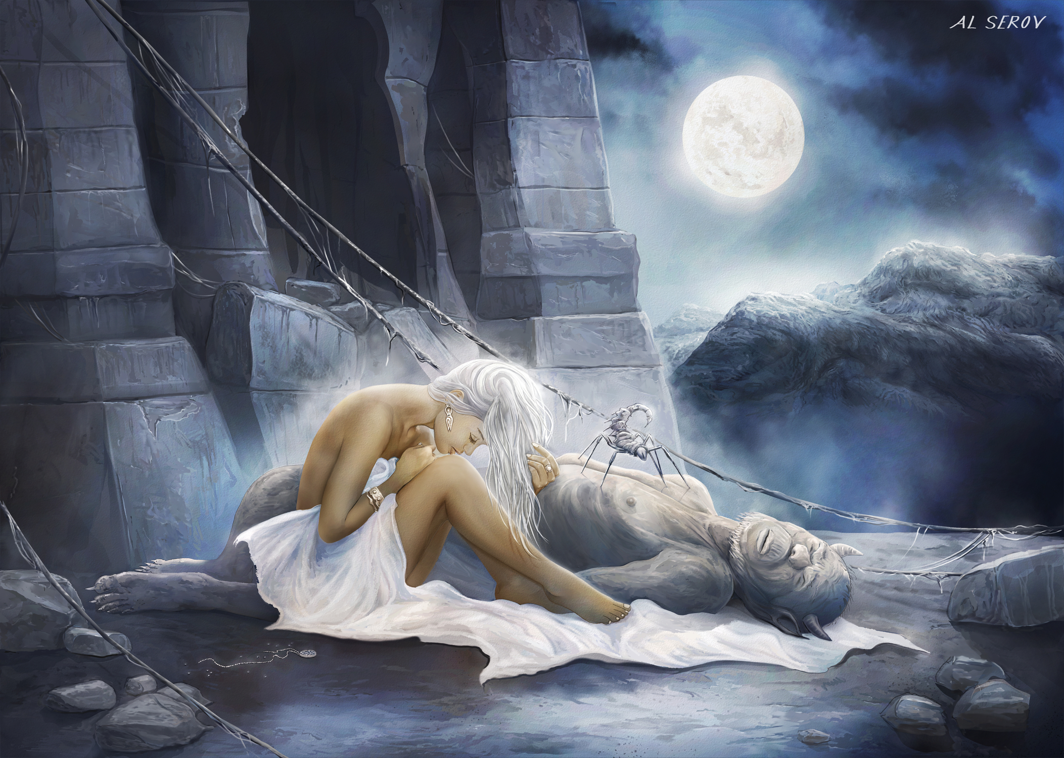 Loss of Sensation Artwork by Al Serov