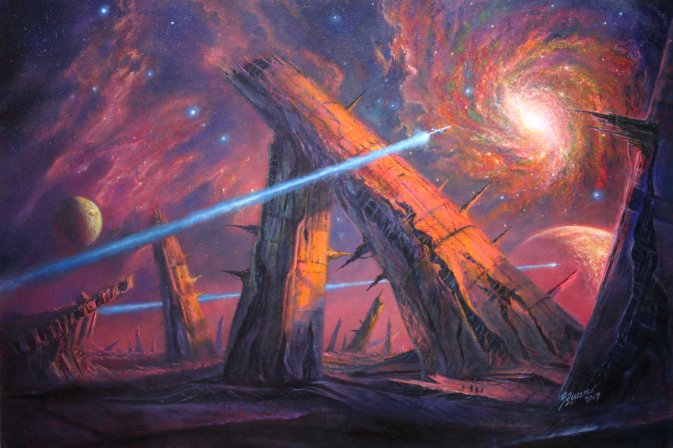FOUNDATION FUTURE Artwork by Bob Eggleton