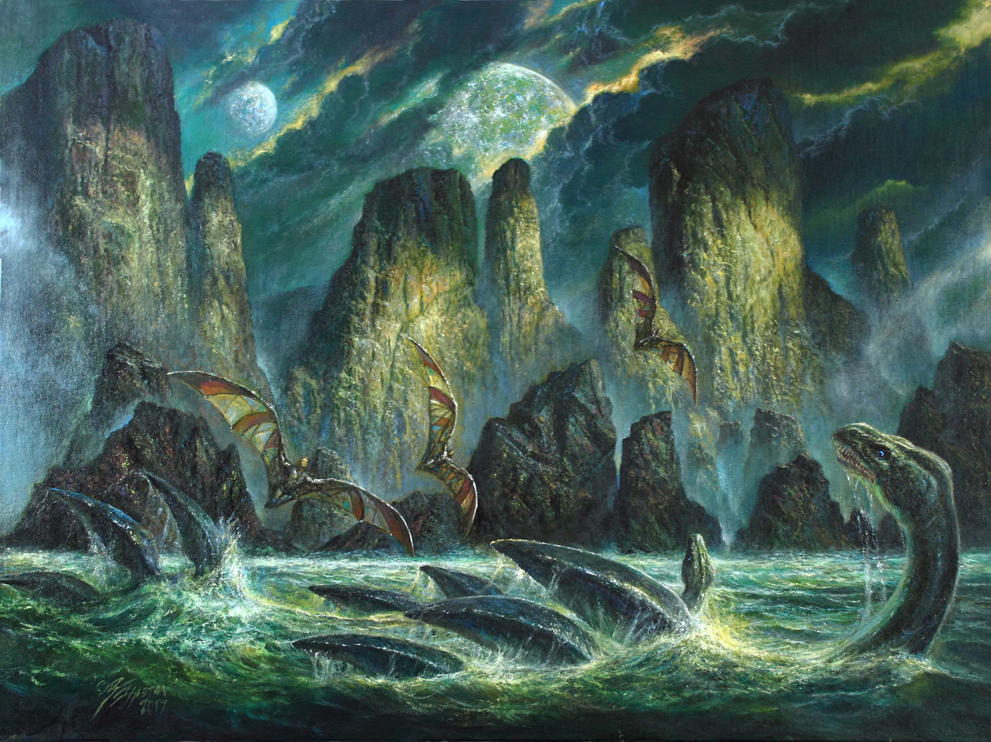 WINDHAVEN Artwork by Bob Eggleton