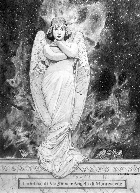 Resurrection Angel Artwork by Joseph Bellofatto