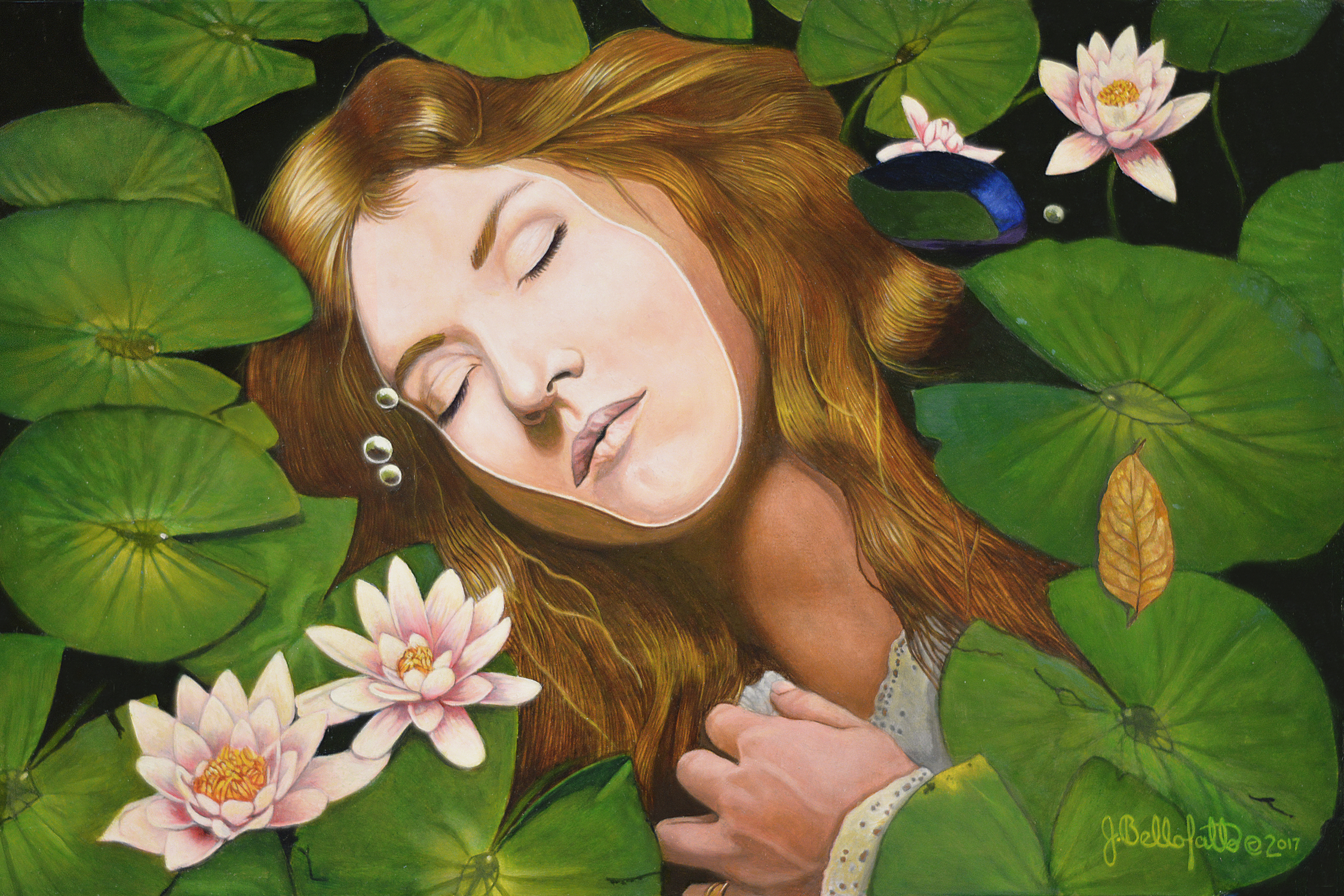 Drowning in Sorrow Artwork by Joseph Bellofatto
