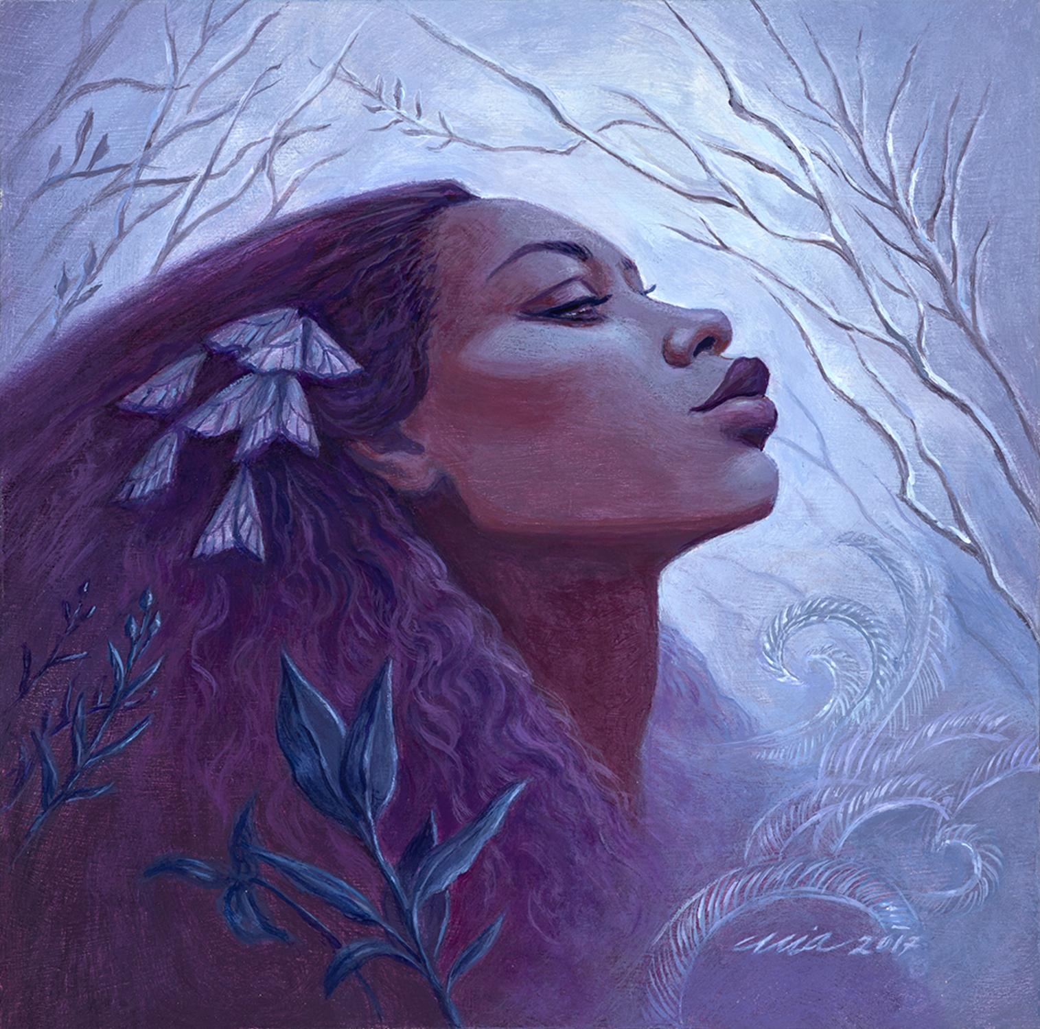 Morning Frost Artwork by Mia Araujo