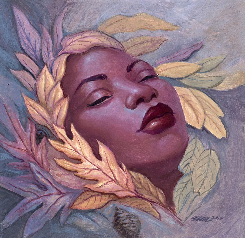 Autumnal Slumber Artwork by Mia Araujo