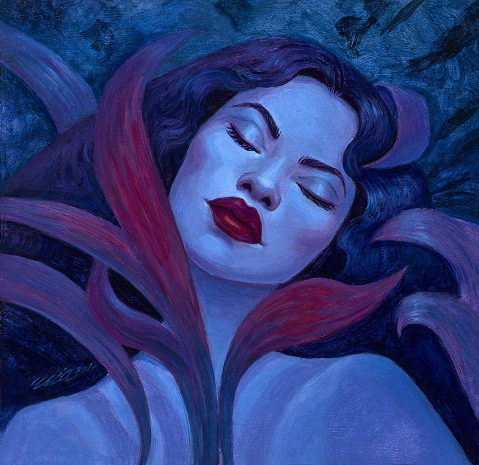 December Dreams Artwork by Mia Araujo