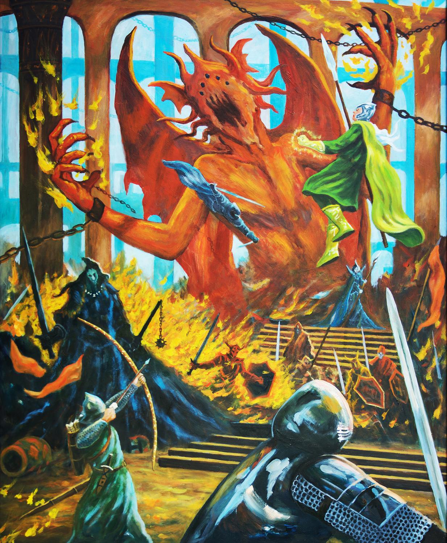 Necropolis 2 Artwork by Brian McElligott