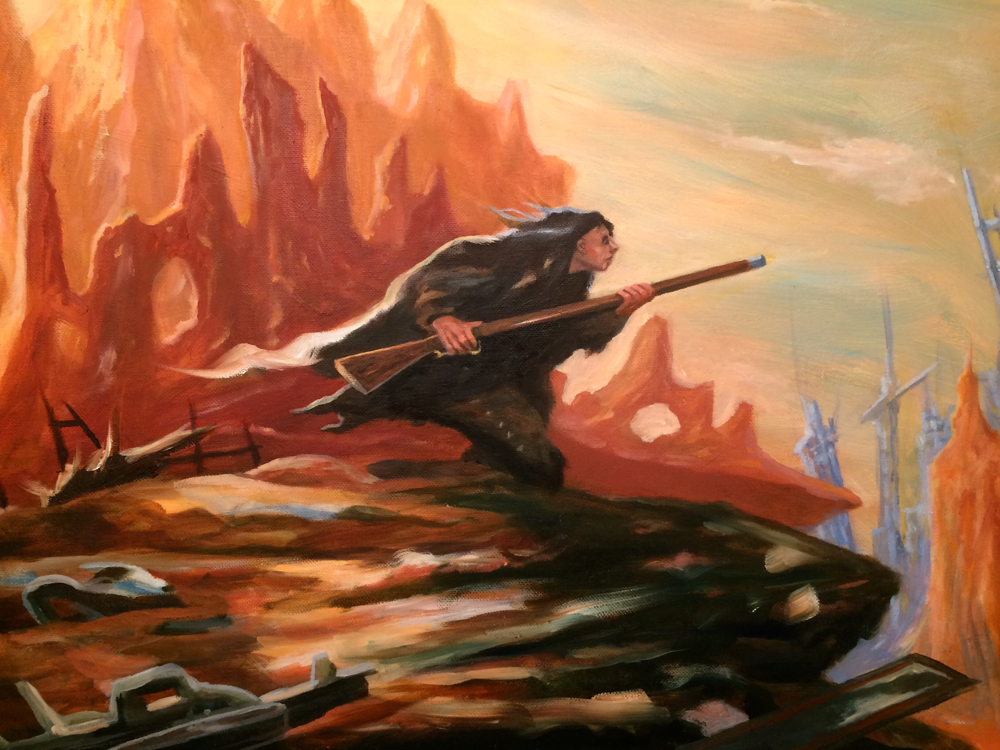 The Last of the Mohicans Artwork by Brian McElligott