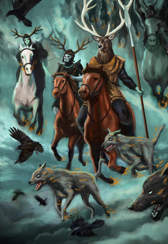 The Wild Hunt Artwork by Brian McElligott