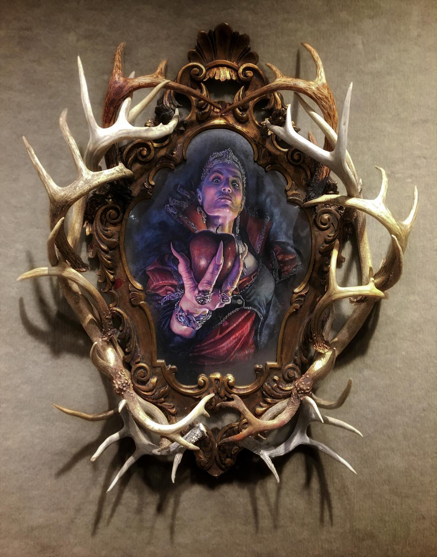 Through Wind & Darkness I Summon Thee Artwork by Dan Chudzinski