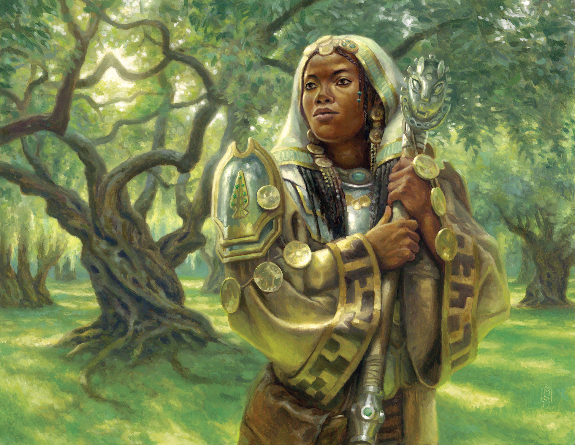 Noble Hierarch Artwork by Matthew Stewart