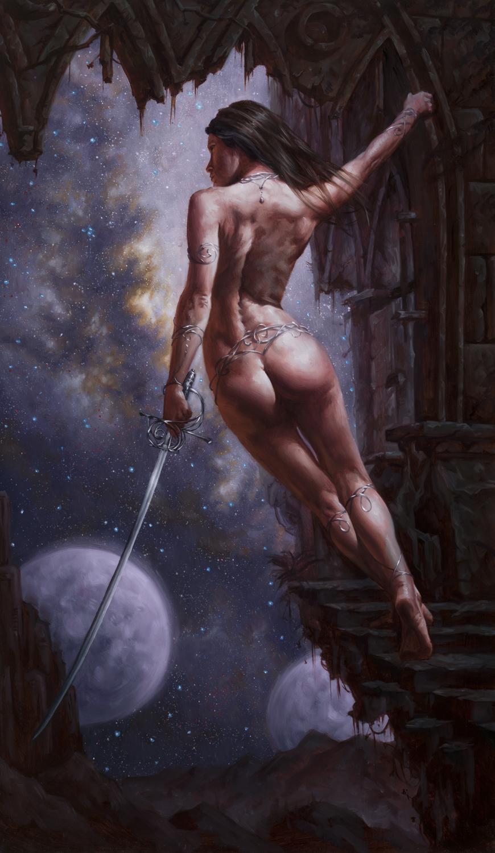 Princess of Mars Artwork by Michael C. Hayes