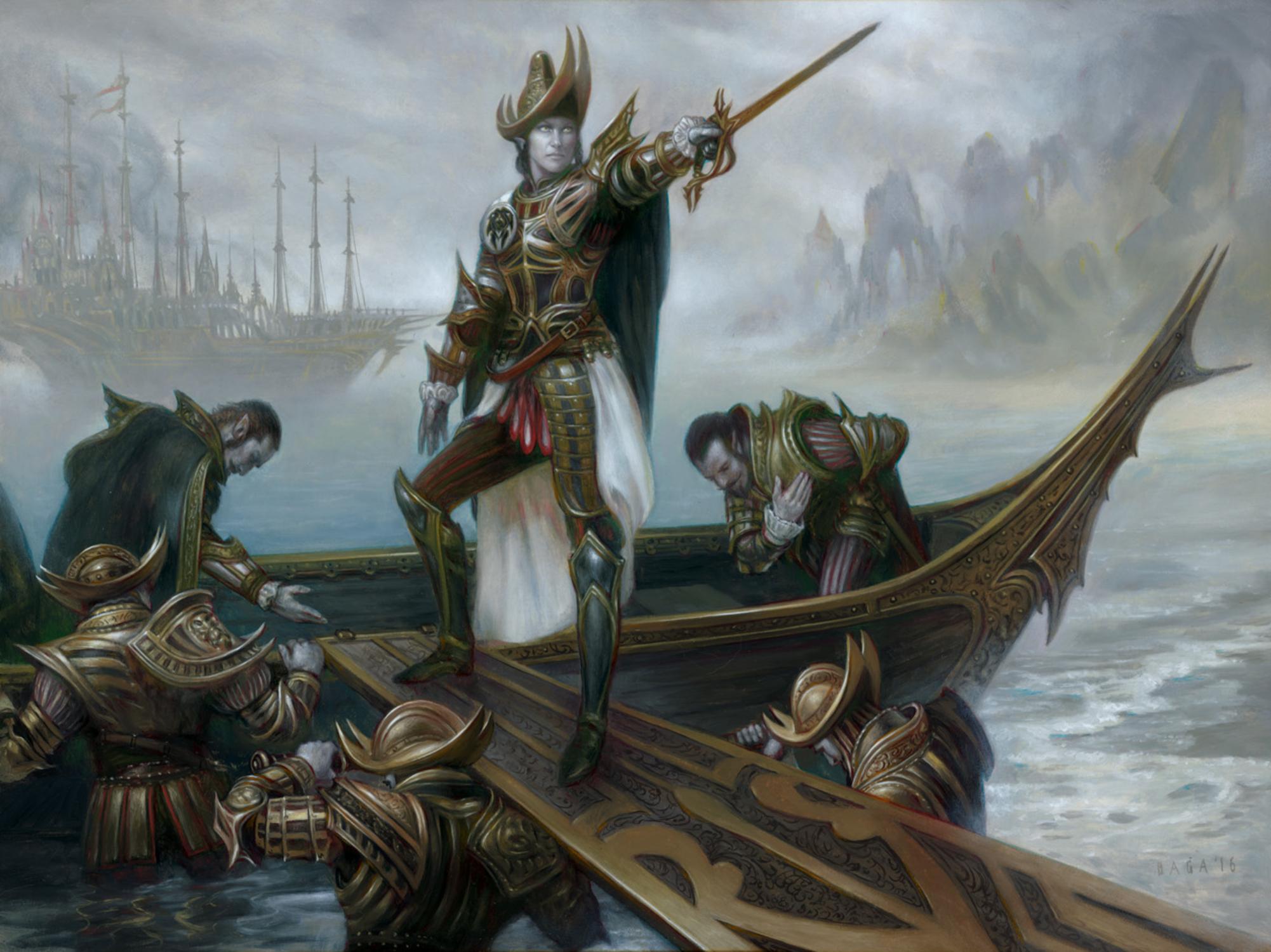 Vona, Butcher of Magan Artwork by Volkan Baga