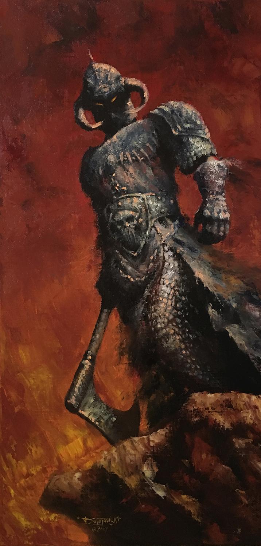 Frazettas Death Dealer Artwork by John Dotegowski