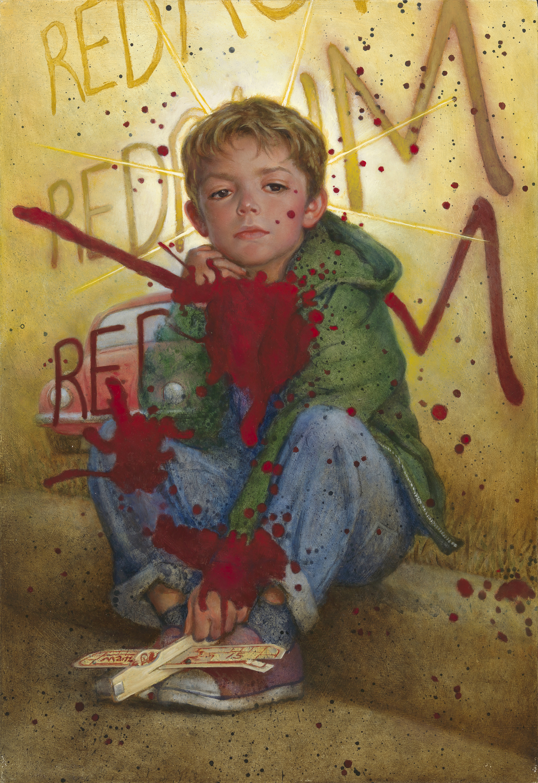 Danny Shines Artwork by Don  Maitz