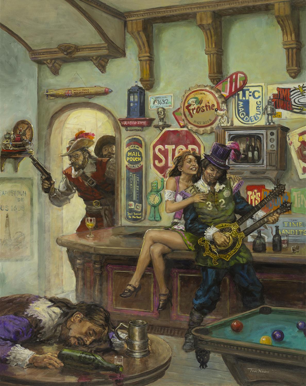 Grantville Gazette VIII Artwork by Tom Kidd