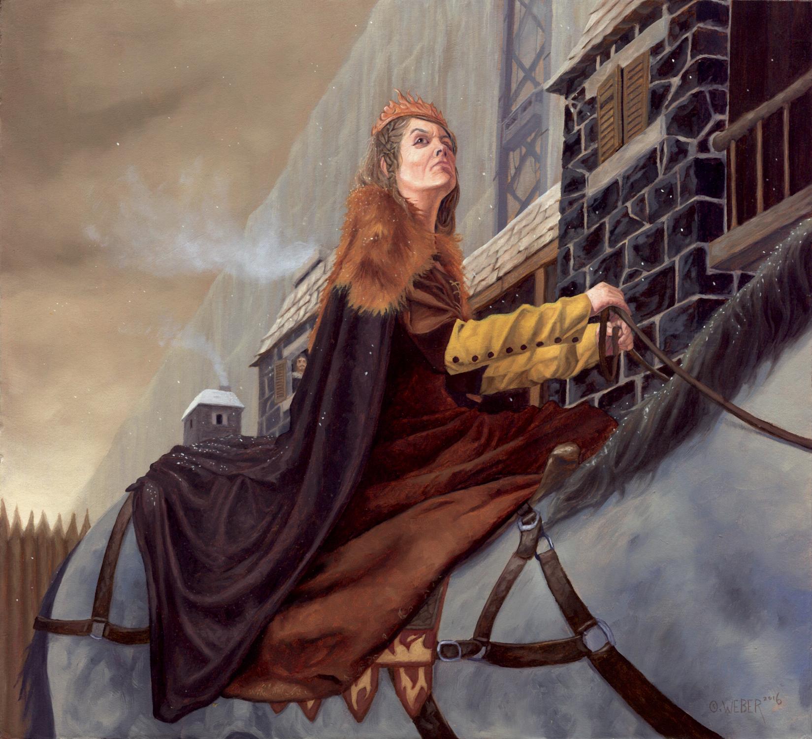 Selyse Baratheon Artwork by Owen Weber