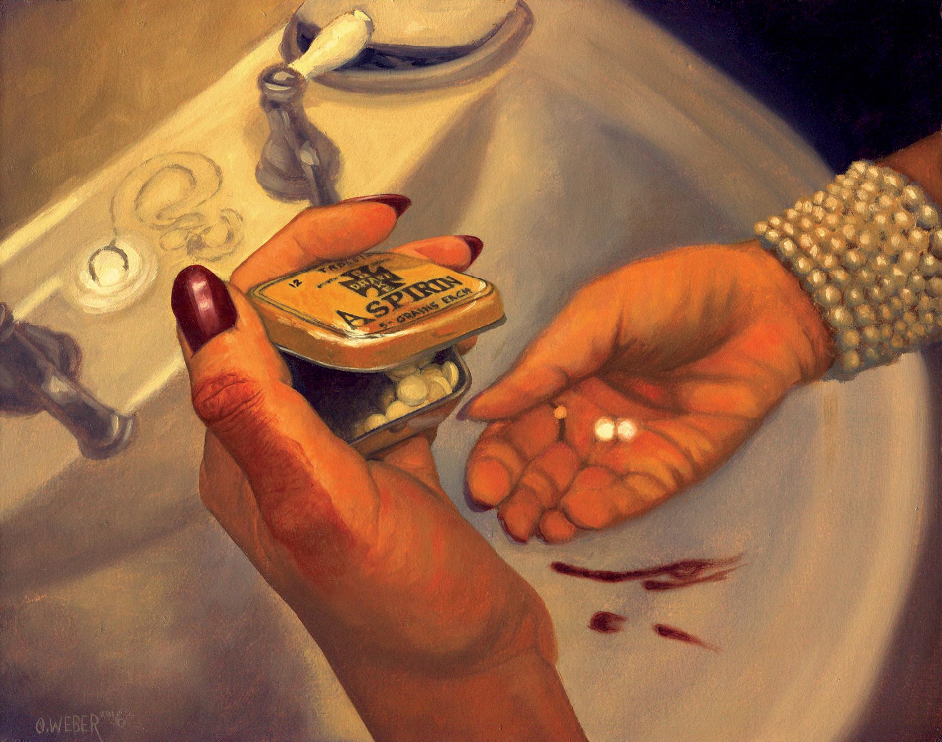 Painkillers Artwork by Owen Weber