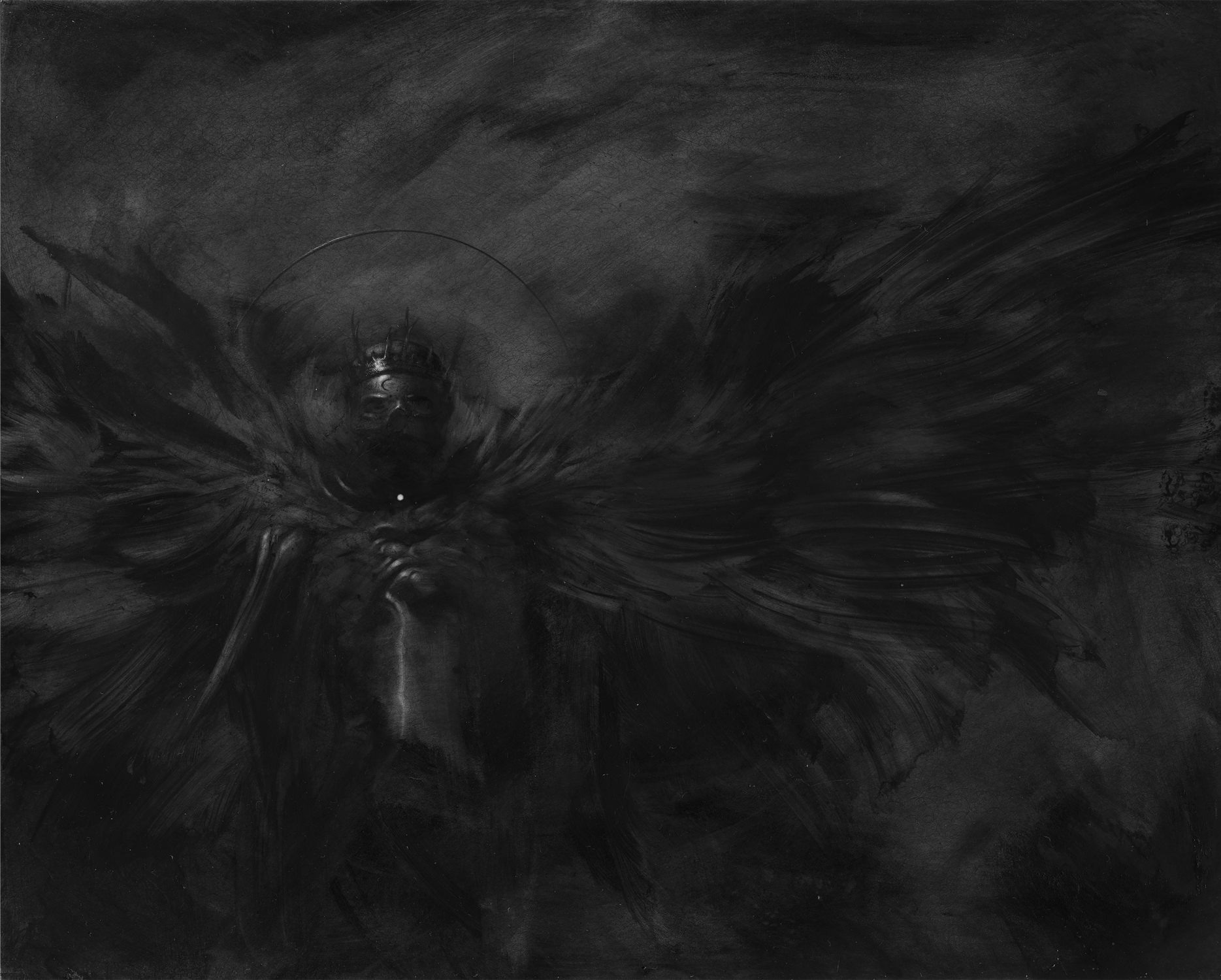 The Storms: Lightening Artwork by Allen Williams
