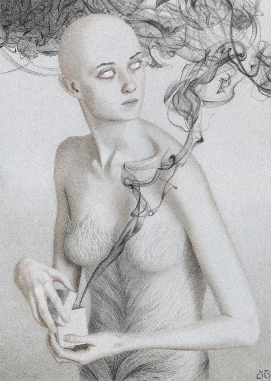 Pandora Artwork by Julia Griffin