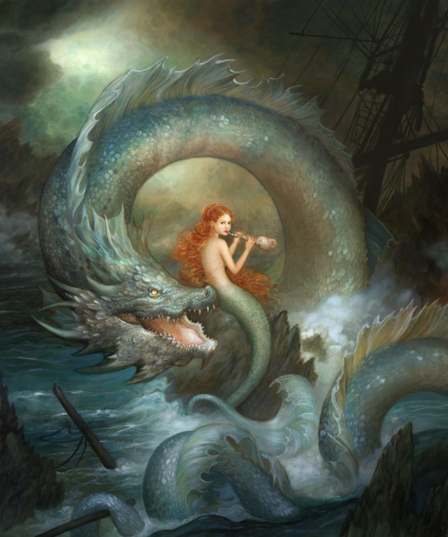 Stormy Serenade Artwork by Annie Stegg